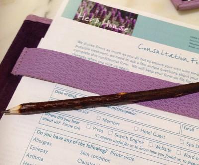 Twig pencil